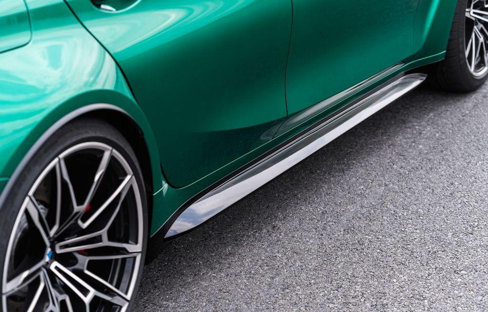BMW a prezentat noile M3 și M4 Coupe: versiune de bază cu 480 CP și cutie manuală, și variantă Competition cu 510 CP și tracțiune integrală - Poza 149