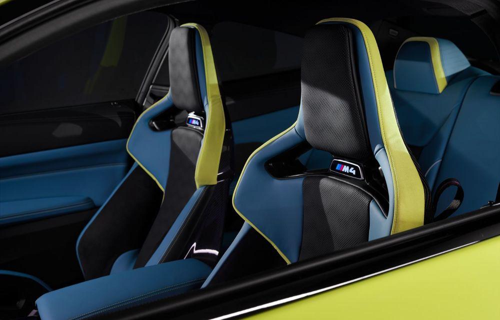 BMW a prezentat noile M3 și M4 Coupe: versiune de bază cu 480 CP și cutie manuală, și variantă Competition cu 510 CP și tracțiune integrală - Poza 198
