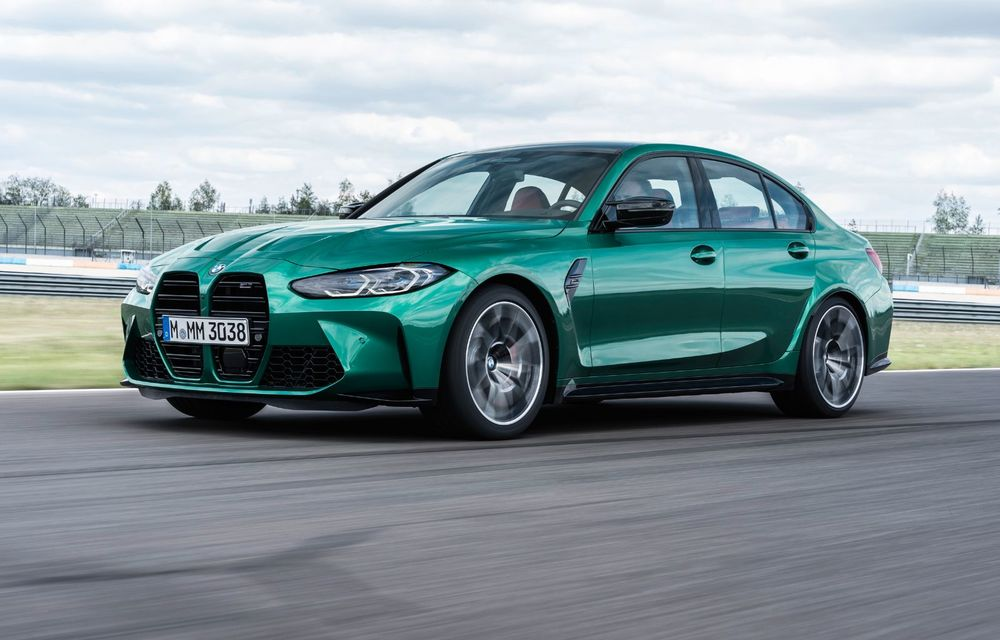 BMW a prezentat noile M3 și M4 Coupe: versiune de bază cu 480 CP și cutie manuală, și variantă Competition cu 510 CP și tracțiune integrală - Poza 107