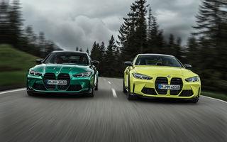 BMW a prezentat noile M3 și M4 Coupe: versiune de bază cu 480 CP și cutie manuală, și variantă Competition cu 510 CP și tracțiune integrală