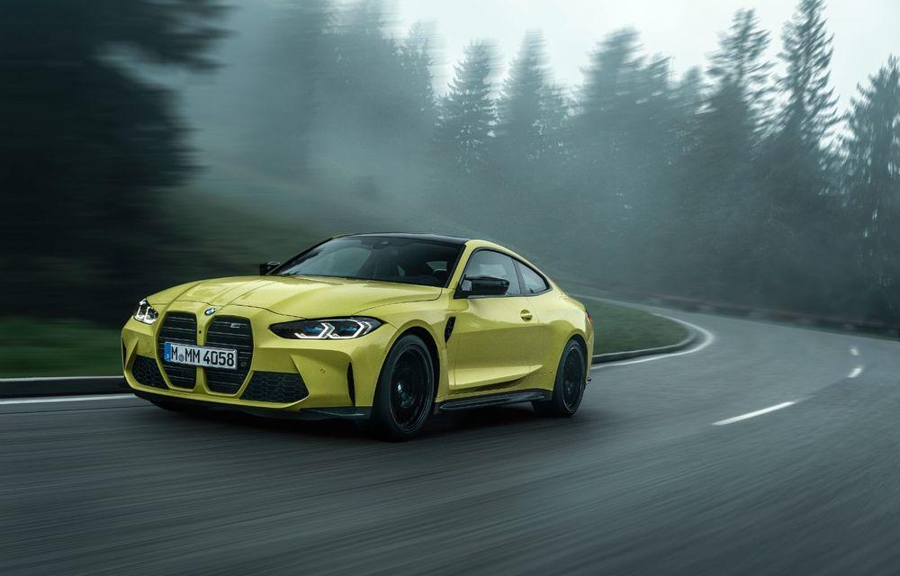 BMW a prezentat noile M3 și M4 Coupe: versiune de bază cu 480 CP și cutie manuală, și variantă Competition cu 510 CP și tracțiune integrală - Poza 32