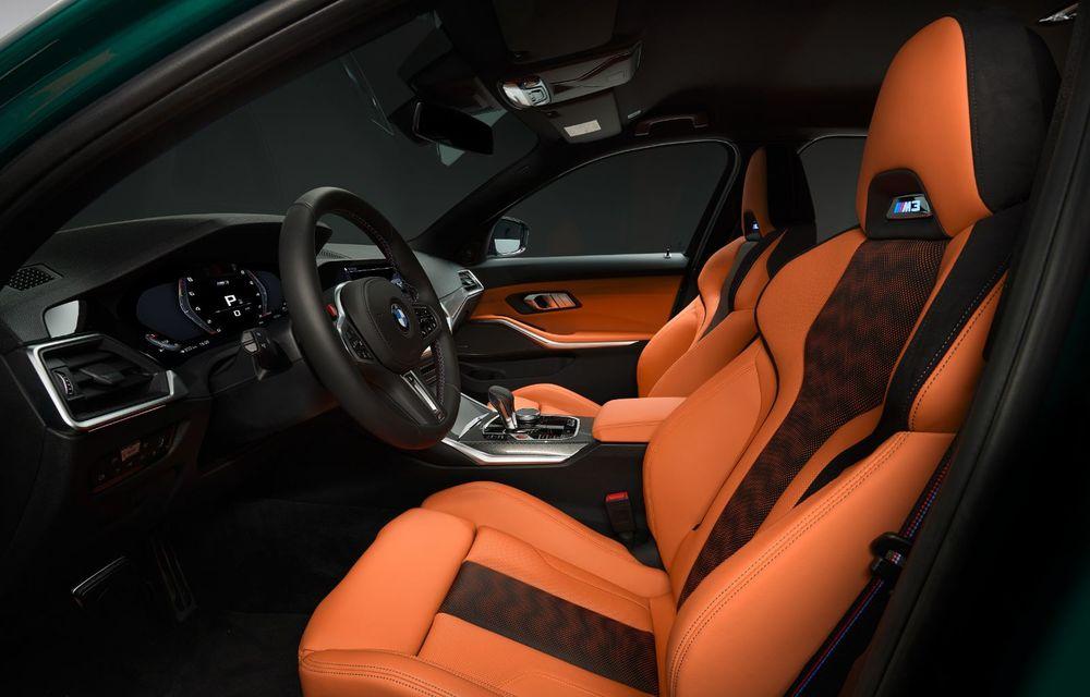 BMW a prezentat noile M3 și M4 Coupe: versiune de bază cu 480 CP și cutie manuală, și variantă Competition cu 510 CP și tracțiune integrală - Poza 176