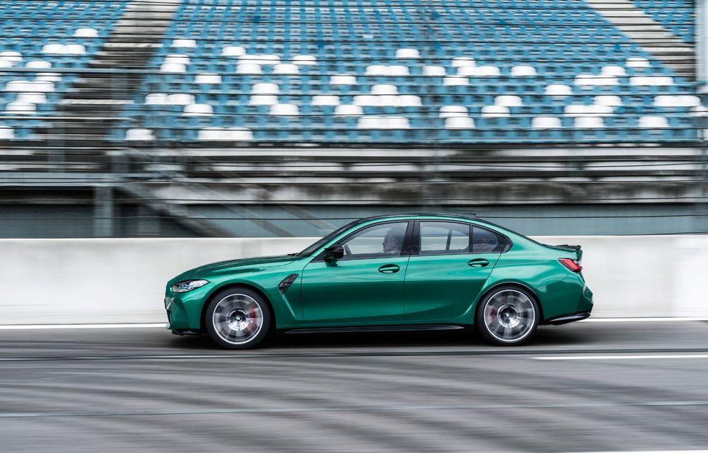 BMW a prezentat noile M3 și M4 Coupe: versiune de bază cu 480 CP și cutie manuală, și variantă Competition cu 510 CP și tracțiune integrală - Poza 108