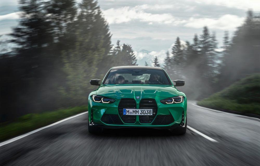 BMW a prezentat noile M3 și M4 Coupe: versiune de bază cu 480 CP și cutie manuală, și variantă Competition cu 510 CP și tracțiune integrală - Poza 12