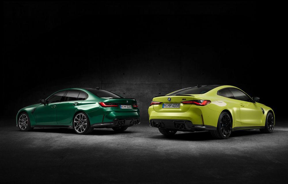 BMW a prezentat noile M3 și M4 Coupe: versiune de bază cu 480 CP și cutie manuală, și variantă Competition cu 510 CP și tracțiune integrală - Poza 154