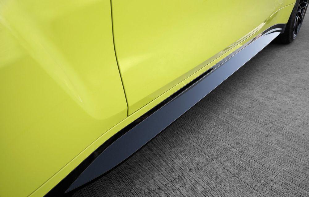 BMW a prezentat noile M3 și M4 Coupe: versiune de bază cu 480 CP și cutie manuală, și variantă Competition cu 510 CP și tracțiune integrală - Poza 86
