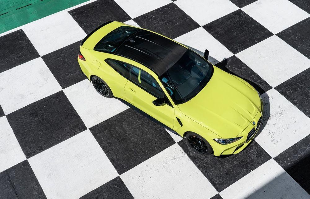 BMW a prezentat noile M3 și M4 Coupe: versiune de bază cu 480 CP și cutie manuală, și variantă Competition cu 510 CP și tracțiune integrală - Poza 64