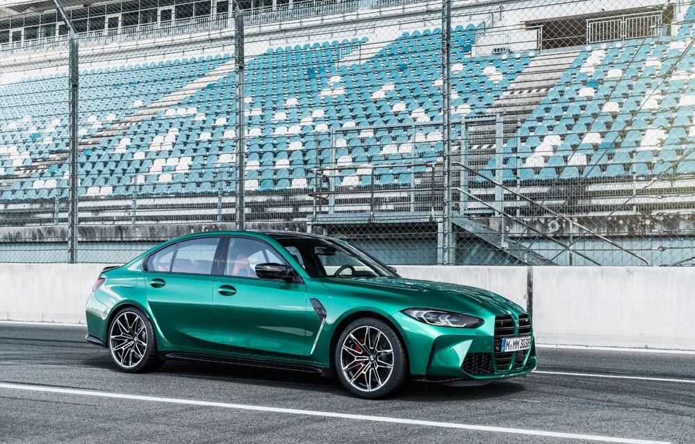 BMW a prezentat noile M3 și M4 Coupe: versiune de bază cu 480 CP și cutie manuală, și variantă Competition cu 510 CP și tracțiune integrală - Poza 137