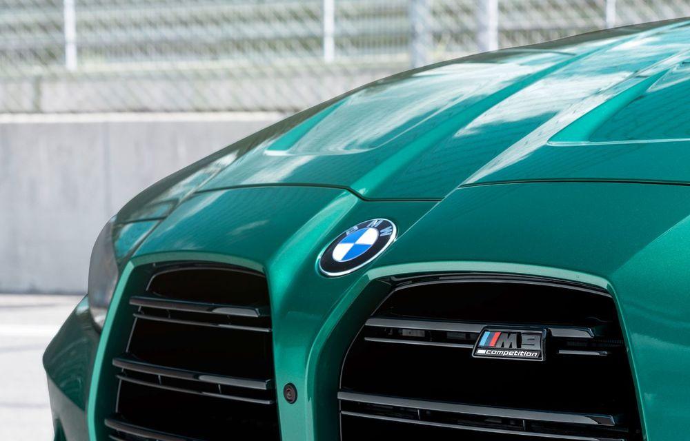 BMW a prezentat noile M3 și M4 Coupe: versiune de bază cu 480 CP și cutie manuală, și variantă Competition cu 510 CP și tracțiune integrală - Poza 147