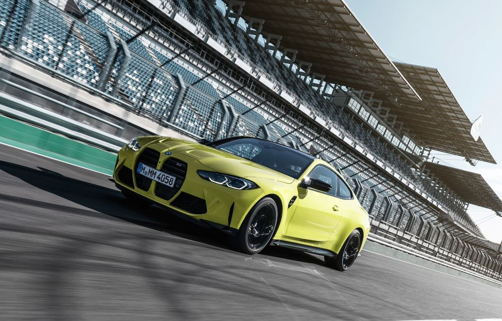 BMW a prezentat noile M3 și M4 Coupe: versiune de bază cu 480 CP și cutie manuală, și variantă Competition cu 510 CP și tracțiune integrală - Poza 59