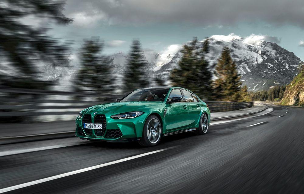 BMW a prezentat noile M3 și M4 Coupe: versiune de bază cu 480 CP și cutie manuală, și variantă Competition cu 510 CP și tracțiune integrală - Poza 7
