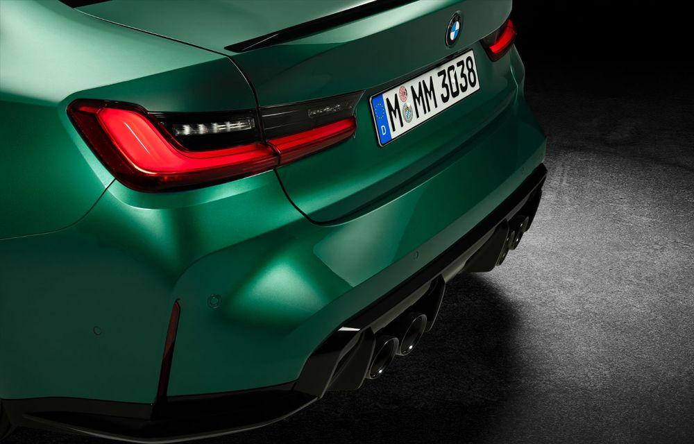BMW a prezentat noile M3 și M4 Coupe: versiune de bază cu 480 CP și cutie manuală, și variantă Competition cu 510 CP și tracțiune integrală - Poza 171