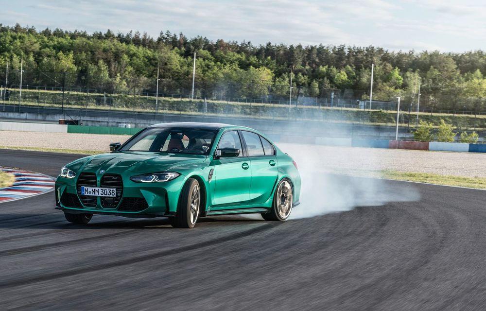 BMW a prezentat noile M3 și M4 Coupe: versiune de bază cu 480 CP și cutie manuală, și variantă Competition cu 510 CP și tracțiune integrală - Poza 133
