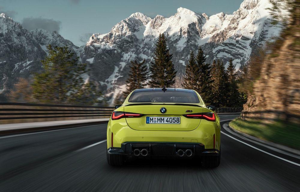 BMW a prezentat noile M3 și M4 Coupe: versiune de bază cu 480 CP și cutie manuală, și variantă Competition cu 510 CP și tracțiune integrală - Poza 36