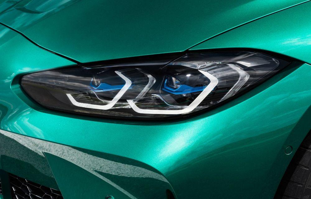 BMW a prezentat noile M3 și M4 Coupe: versiune de bază cu 480 CP și cutie manuală, și variantă Competition cu 510 CP și tracțiune integrală - Poza 151