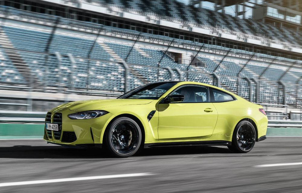 BMW a prezentat noile M3 și M4 Coupe: versiune de bază cu 480 CP și cutie manuală, și variantă Competition cu 510 CP și tracțiune integrală - Poza 45