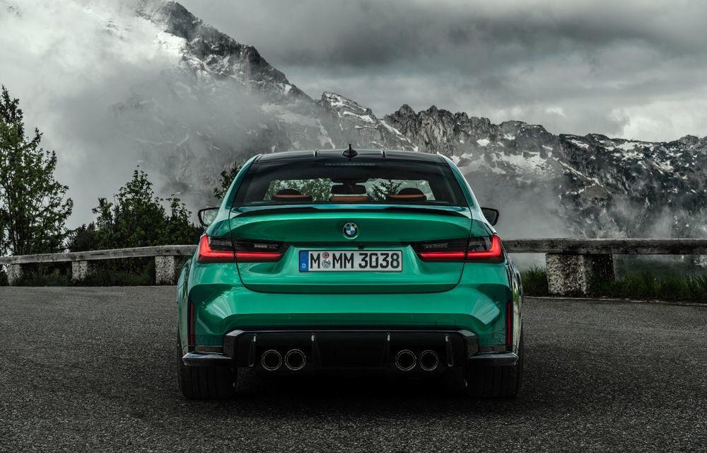 BMW a prezentat noile M3 și M4 Coupe: versiune de bază cu 480 CP și cutie manuală, și variantă Competition cu 510 CP și tracțiune integrală - Poza 20
