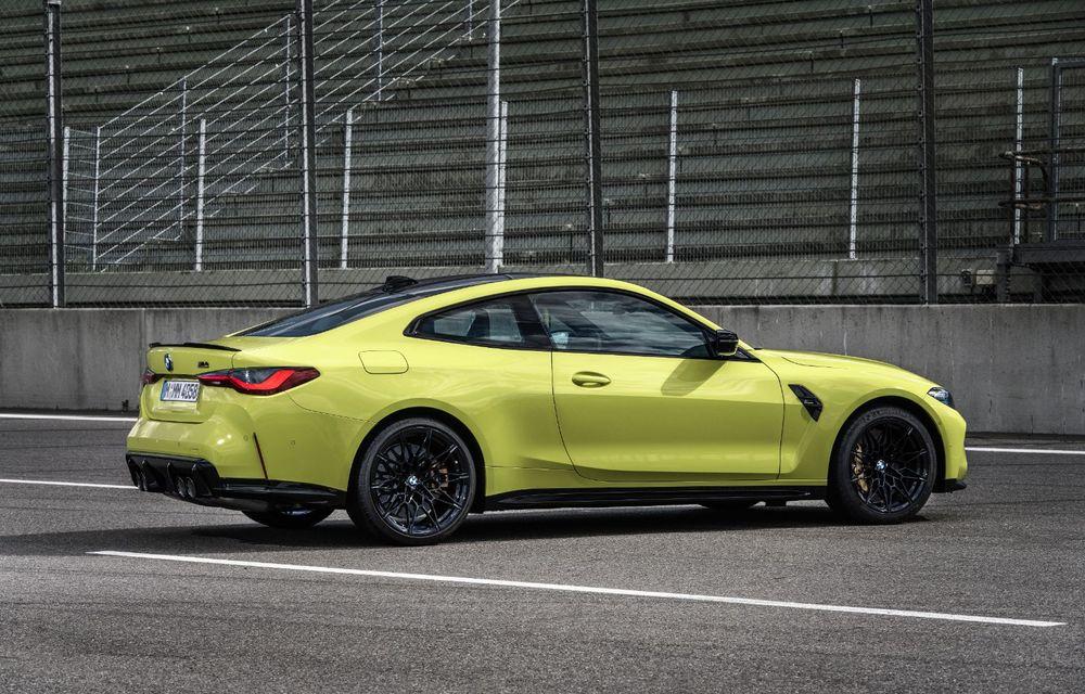 BMW a prezentat noile M3 și M4 Coupe: versiune de bază cu 480 CP și cutie manuală, și variantă Competition cu 510 CP și tracțiune integrală - Poza 80
