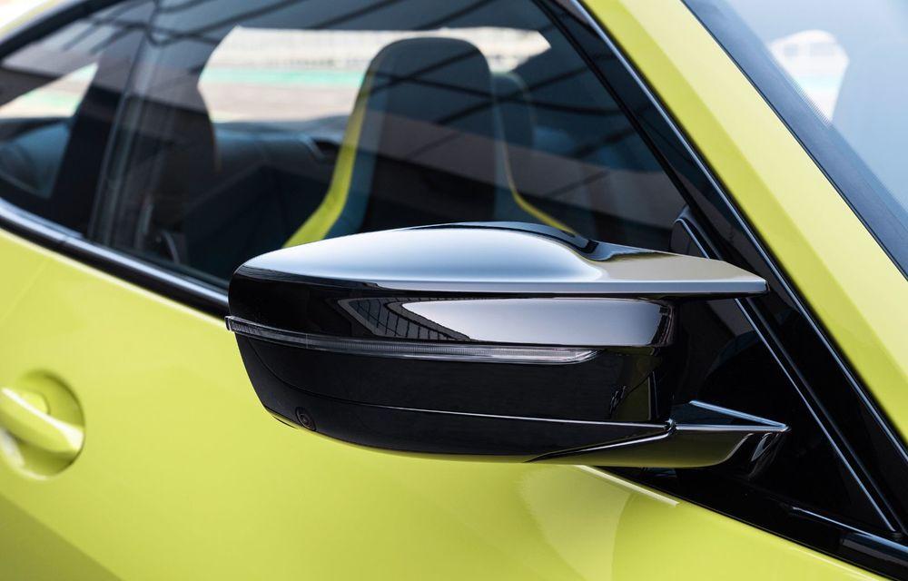 BMW a prezentat noile M3 și M4 Coupe: versiune de bază cu 480 CP și cutie manuală, și variantă Competition cu 510 CP și tracțiune integrală - Poza 89