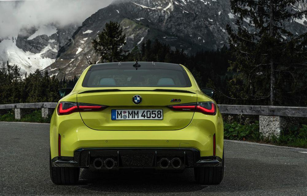 BMW a prezentat noile M3 și M4 Coupe: versiune de bază cu 480 CP și cutie manuală, și variantă Competition cu 510 CP și tracțiune integrală - Poza 39