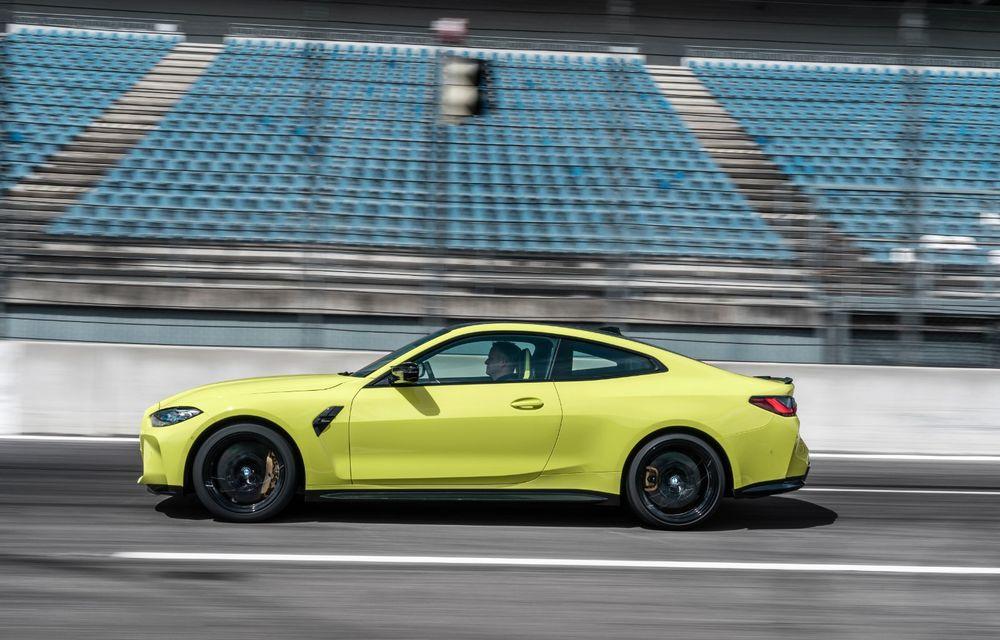BMW a prezentat noile M3 și M4 Coupe: versiune de bază cu 480 CP și cutie manuală, și variantă Competition cu 510 CP și tracțiune integrală - Poza 66