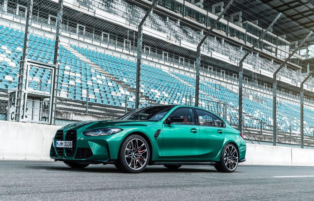 BMW a prezentat noile M3 și M4 Coupe: versiune de bază cu 480 CP și cutie manuală, și variantă Competition cu 510 CP și tracțiune integrală - Poza 138