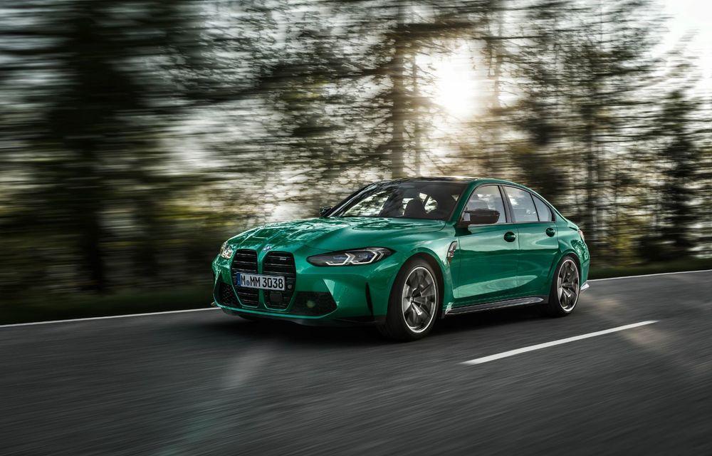 BMW a prezentat noile M3 și M4 Coupe: versiune de bază cu 480 CP și cutie manuală, și variantă Competition cu 510 CP și tracțiune integrală - Poza 9