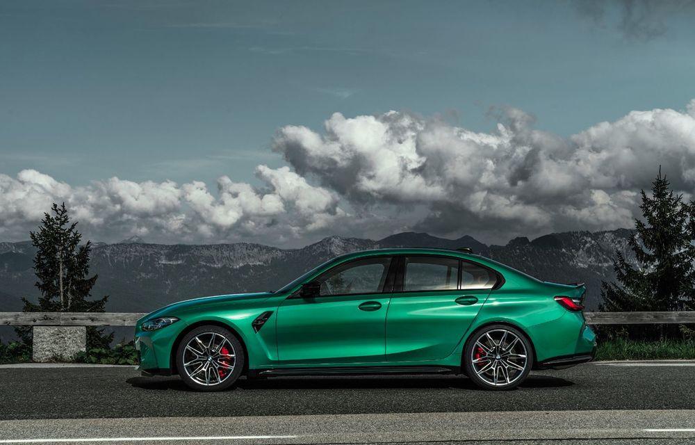 BMW a prezentat noile M3 și M4 Coupe: versiune de bază cu 480 CP și cutie manuală, și variantă Competition cu 510 CP și tracțiune integrală - Poza 27
