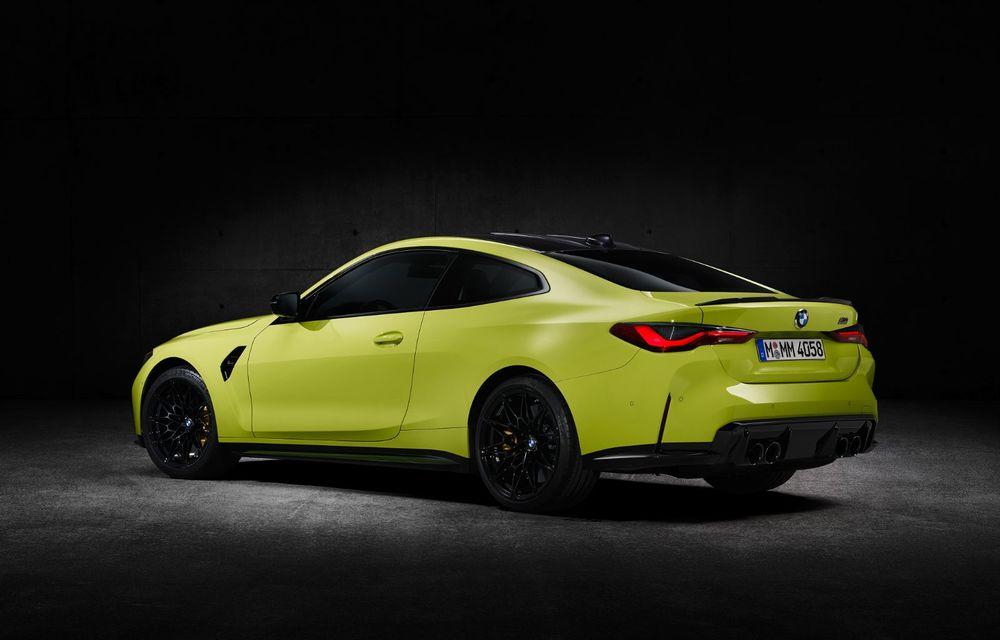 BMW a prezentat noile M3 și M4 Coupe: versiune de bază cu 480 CP și cutie manuală, și variantă Competition cu 510 CP și tracțiune integrală - Poza 182