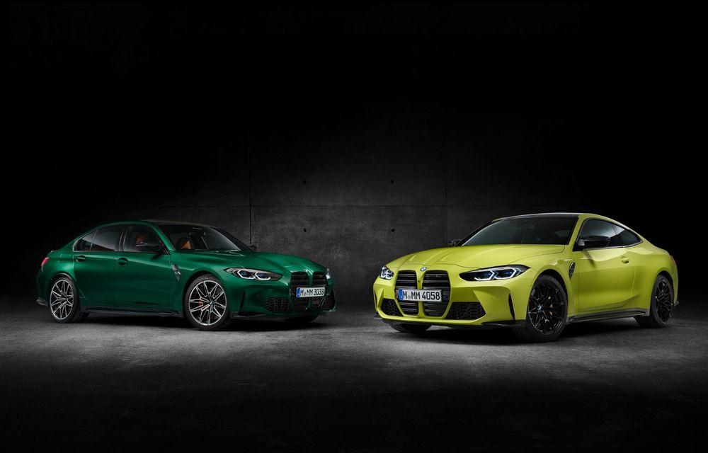 BMW a prezentat noile M3 și M4 Coupe: versiune de bază cu 480 CP și cutie manuală, și variantă Competition cu 510 CP și tracțiune integrală - Poza 155
