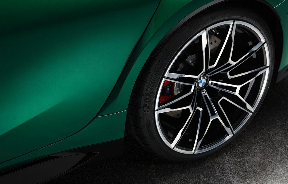 BMW a prezentat noile M3 și M4 Coupe: versiune de bază cu 480 CP și cutie manuală, și variantă Competition cu 510 CP și tracțiune integrală - Poza 163