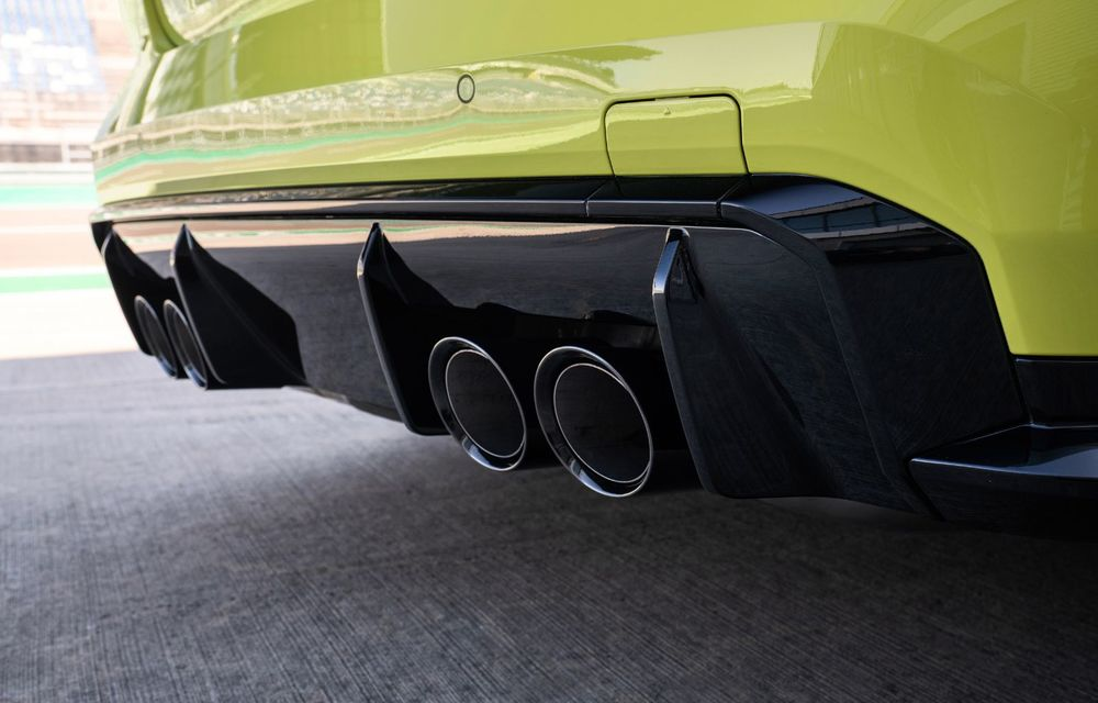 BMW a prezentat noile M3 și M4 Coupe: versiune de bază cu 480 CP și cutie manuală, și variantă Competition cu 510 CP și tracțiune integrală - Poza 87