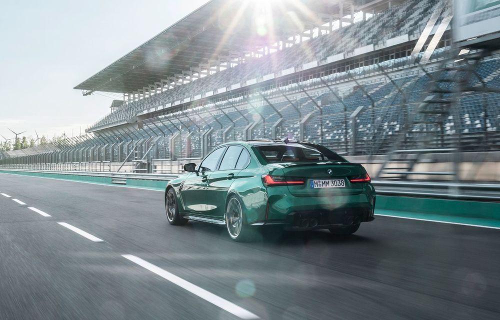 BMW a prezentat noile M3 și M4 Coupe: versiune de bază cu 480 CP și cutie manuală, și variantă Competition cu 510 CP și tracțiune integrală - Poza 128