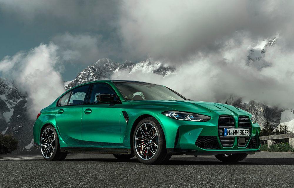 BMW a prezentat noile M3 și M4 Coupe: versiune de bază cu 480 CP și cutie manuală, și variantă Competition cu 510 CP și tracțiune integrală - Poza 23