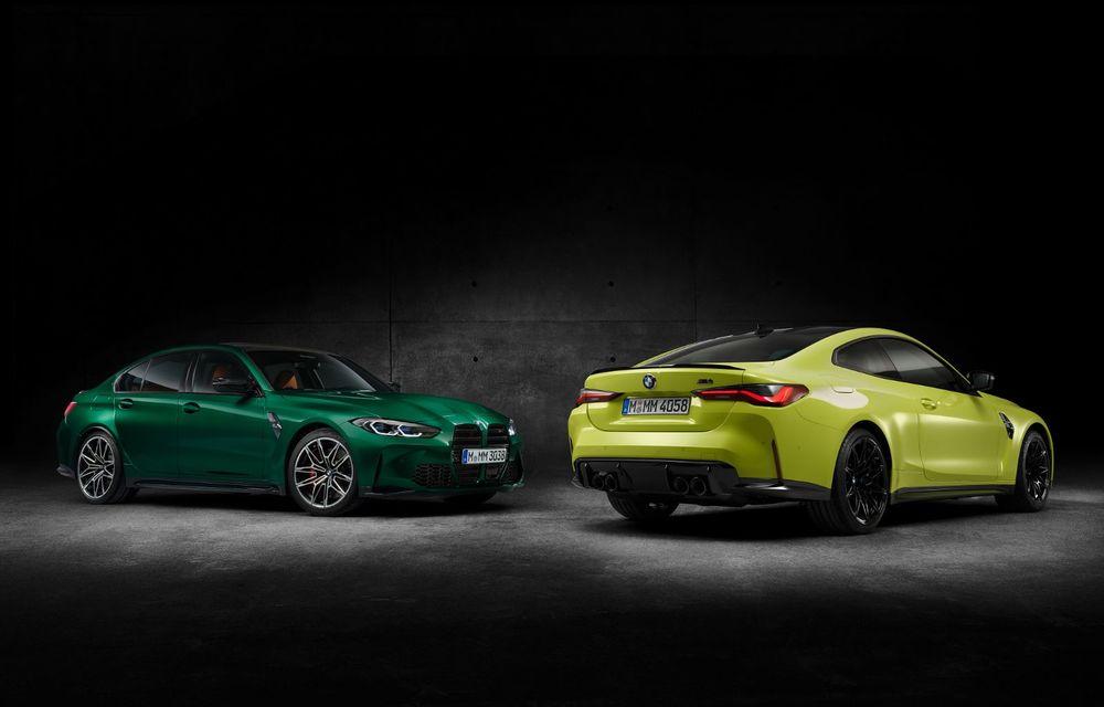 BMW a prezentat noile M3 și M4 Coupe: versiune de bază cu 480 CP și cutie manuală, și variantă Competition cu 510 CP și tracțiune integrală - Poza 156