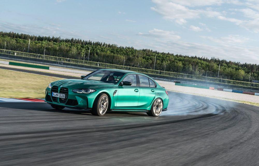 BMW a prezentat noile M3 și M4 Coupe: versiune de bază cu 480 CP și cutie manuală, și variantă Competition cu 510 CP și tracțiune integrală - Poza 134