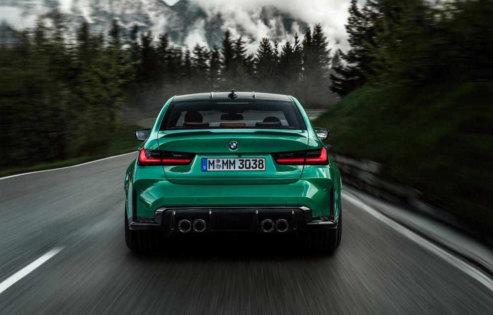 BMW a prezentat noile M3 și M4 Coupe: versiune de bază cu 480 CP și cutie manuală, și variantă Competition cu 510 CP și tracțiune integrală - Poza 18