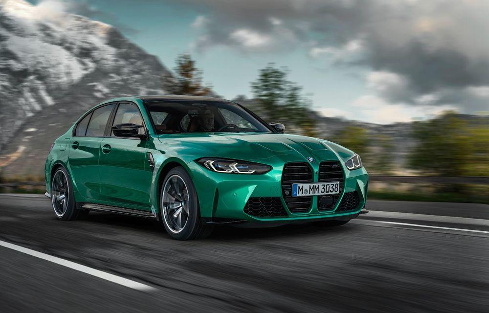 BMW a prezentat noile M3 și M4 Coupe: versiune de bază cu 480 CP și cutie manuală, și variantă Competition cu 510 CP și tracțiune integrală - Poza 8