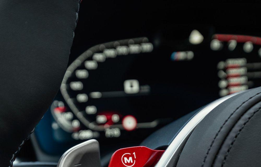 BMW a prezentat noile M3 și M4 Coupe: versiune de bază cu 480 CP și cutie manuală, și variantă Competition cu 510 CP și tracțiune integrală - Poza 51