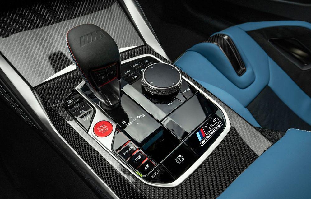 BMW a prezentat noile M3 și M4 Coupe: versiune de bază cu 480 CP și cutie manuală, și variantă Competition cu 510 CP și tracțiune integrală - Poza 102
