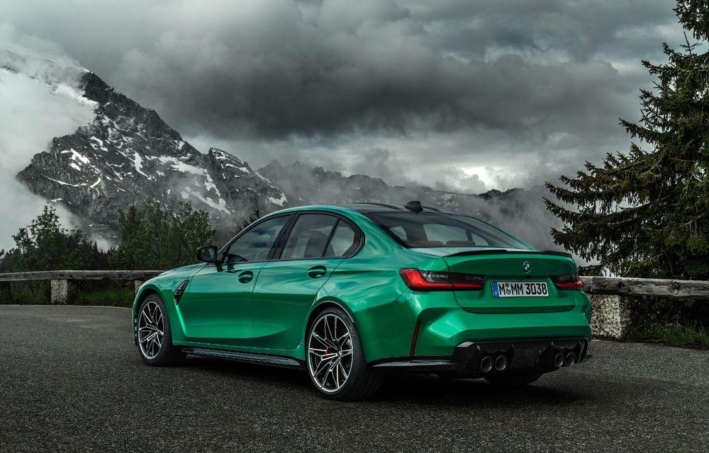 BMW a prezentat noile M3 și M4 Coupe: versiune de bază cu 480 CP și cutie manuală, și variantă Competition cu 510 CP și tracțiune integrală - Poza 21