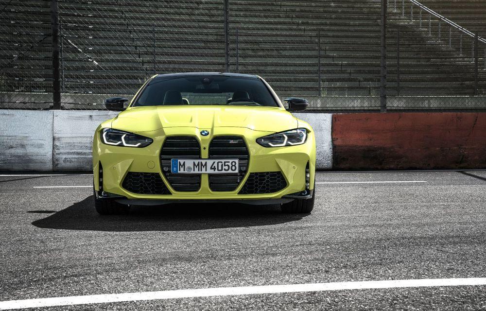 BMW a prezentat noile M3 și M4 Coupe: versiune de bază cu 480 CP și cutie manuală, și variantă Competition cu 510 CP și tracțiune integrală - Poza 72