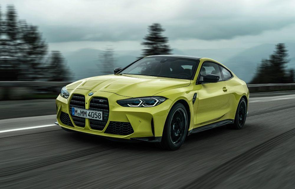 BMW a prezentat noile M3 și M4 Coupe: versiune de bază cu 480 CP și cutie manuală, și variantă Competition cu 510 CP și tracțiune integrală - Poza 29