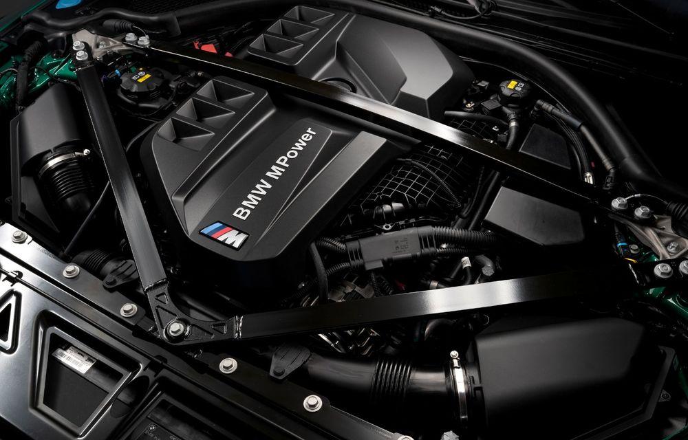 BMW a prezentat noile M3 și M4 Coupe: versiune de bază cu 480 CP și cutie manuală, și variantă Competition cu 510 CP și tracțiune integrală - Poza 153