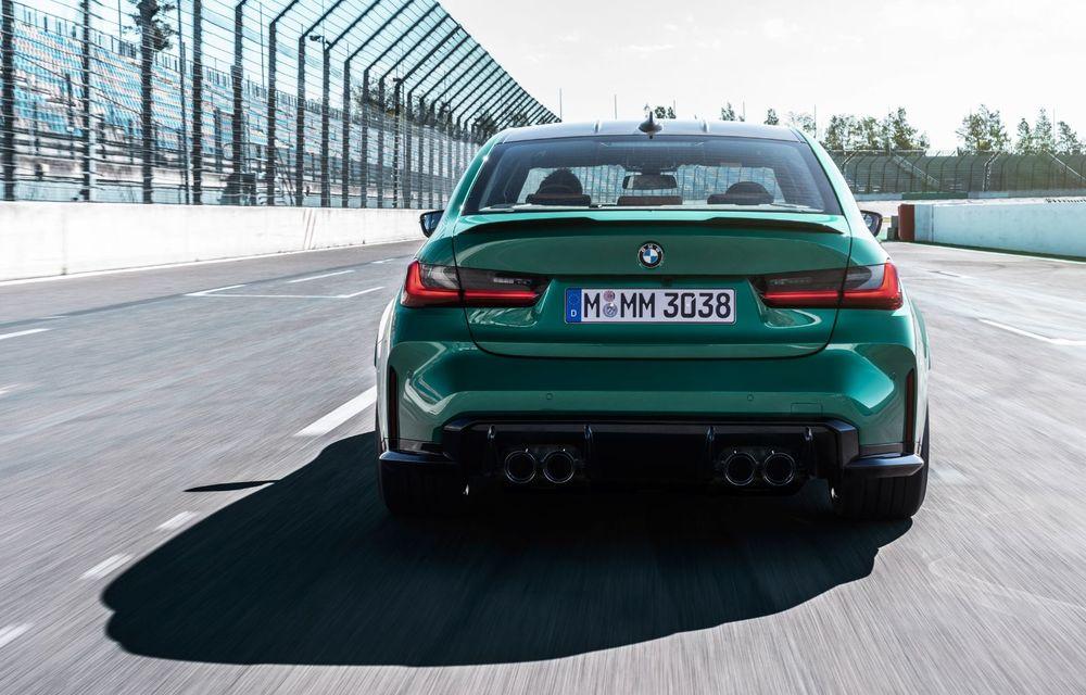 BMW a prezentat noile M3 și M4 Coupe: versiune de bază cu 480 CP și cutie manuală, și variantă Competition cu 510 CP și tracțiune integrală - Poza 121