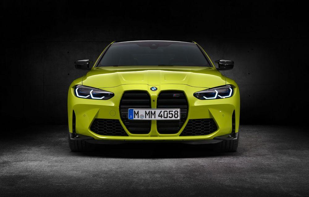 BMW a prezentat noile M3 și M4 Coupe: versiune de bază cu 480 CP și cutie manuală, și variantă Competition cu 510 CP și tracțiune integrală - Poza 196