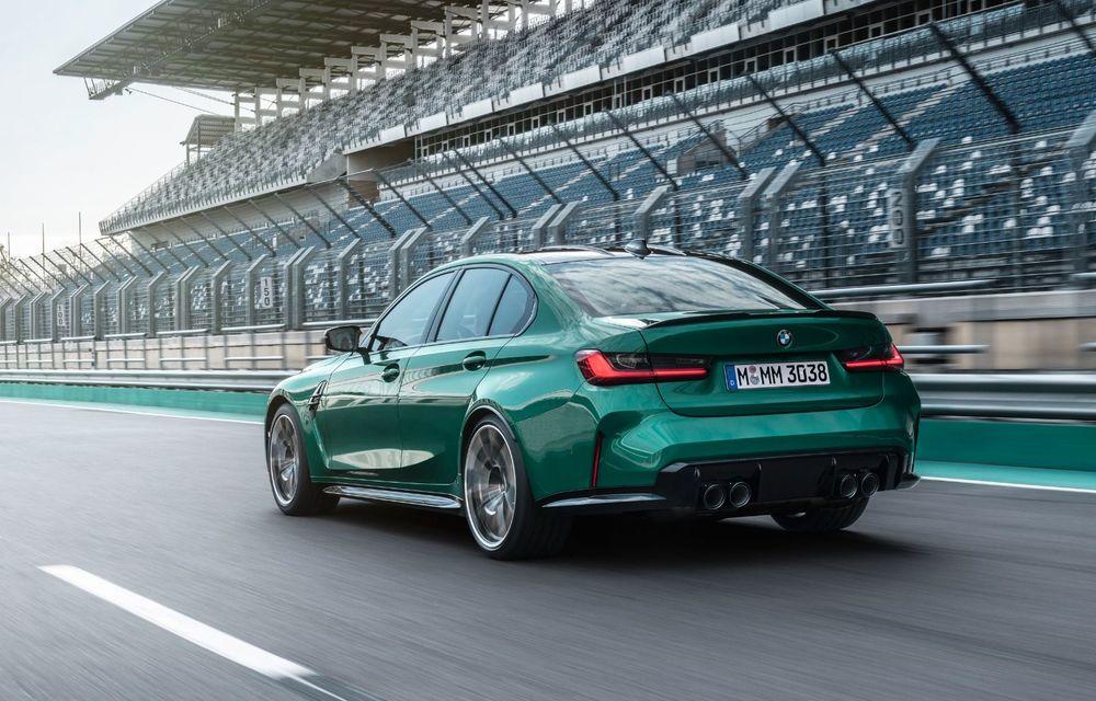 BMW a prezentat noile M3 și M4 Coupe: versiune de bază cu 480 CP și cutie manuală, și variantă Competition cu 510 CP și tracțiune integrală - Poza 129