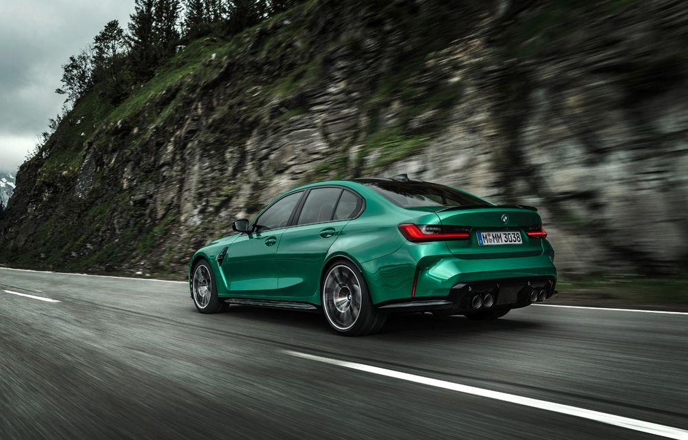 BMW a prezentat noile M3 și M4 Coupe: versiune de bază cu 480 CP și cutie manuală, și variantă Competition cu 510 CP și tracțiune integrală - Poza 16