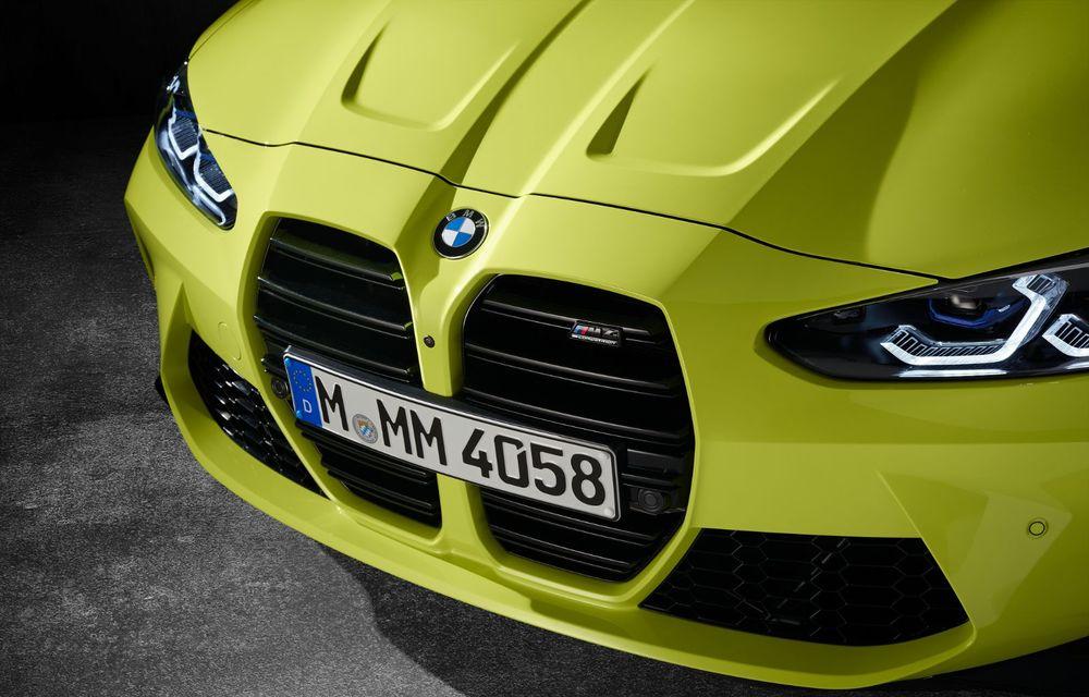 BMW a prezentat noile M3 și M4 Coupe: versiune de bază cu 480 CP și cutie manuală, și variantă Competition cu 510 CP și tracțiune integrală - Poza 185