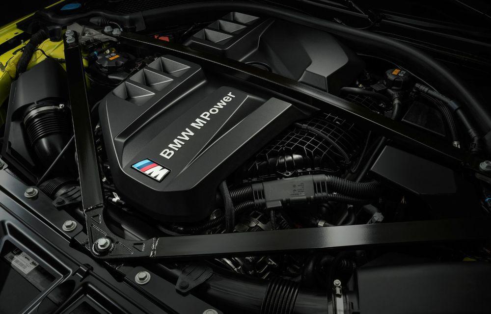 BMW a prezentat noile M3 și M4 Coupe: versiune de bază cu 480 CP și cutie manuală, și variantă Competition cu 510 CP și tracțiune integrală - Poza 104